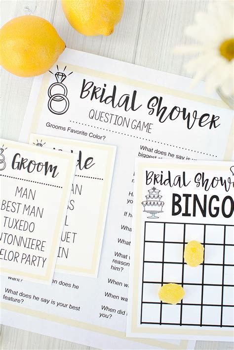 Bridal Shower Games ? Fun Squared