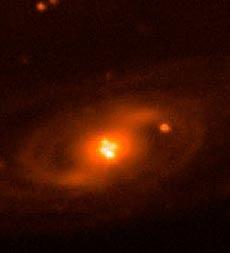 Espejismo cósmico captado por el GTC,