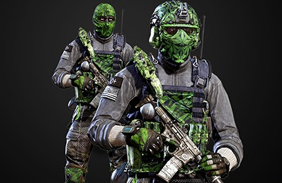 Dress Head To Toe In Weed With These New Cod Ghosts Skins