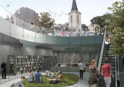 Plaza Houssay. Como quedará con la remodelación.