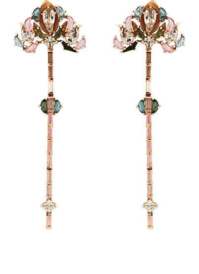 Nak Armstrong Lotus Drop Earrings
