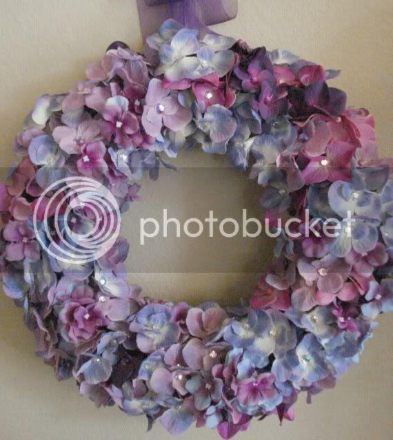 wreath flower hydrangea spring