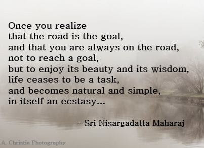 Nisargadatta The Path is the Goal