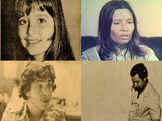Família Cabrera Crespo (Foto: Montagem sobre imagens de reprodução de A Gazeta e TV Globo)
