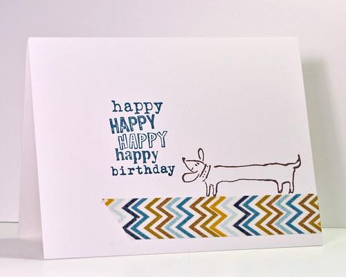 Happy Birthday Weiner Dog
