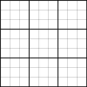 Sudoku - 9x9, 6x6 and Samurai Puzzles