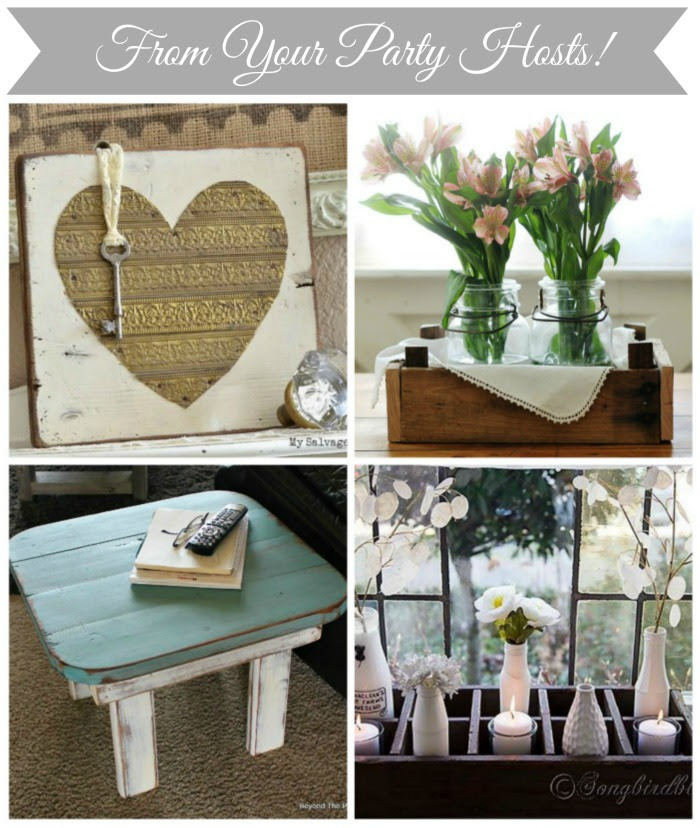 Repurposed and Vintage Decor