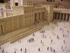 Miniature Jersusalem temple plaza1