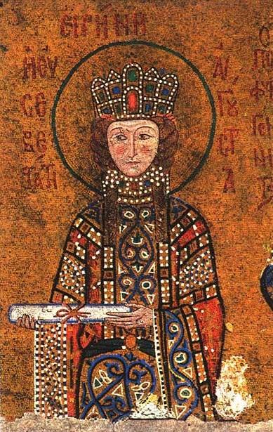 IMG ST. IRENE, Empress, Tonsured Xenia