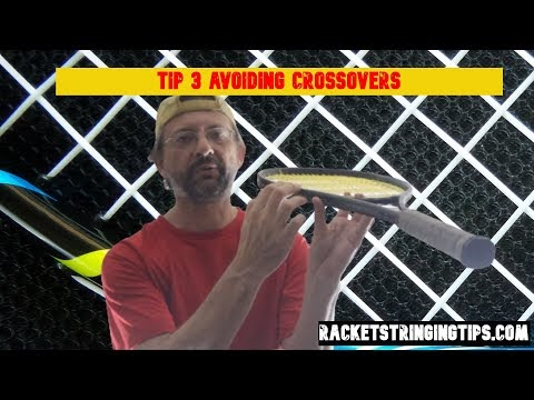 tennis tip 3 : Avoiding Crossovers - Don't ignore the outside of the fra...