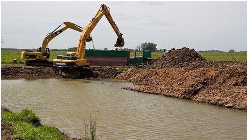 Resultado de imagen para Adecuación de la Sección Cauce del Río Salado