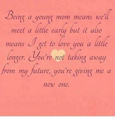 Being A Young Mom Pictures Photos And Images For Facebook Tumblr
