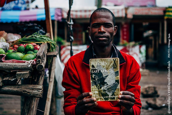 Día 80 #100DaysofAfricanReads:Poems from East Africa -Foto: Msingi Sasis