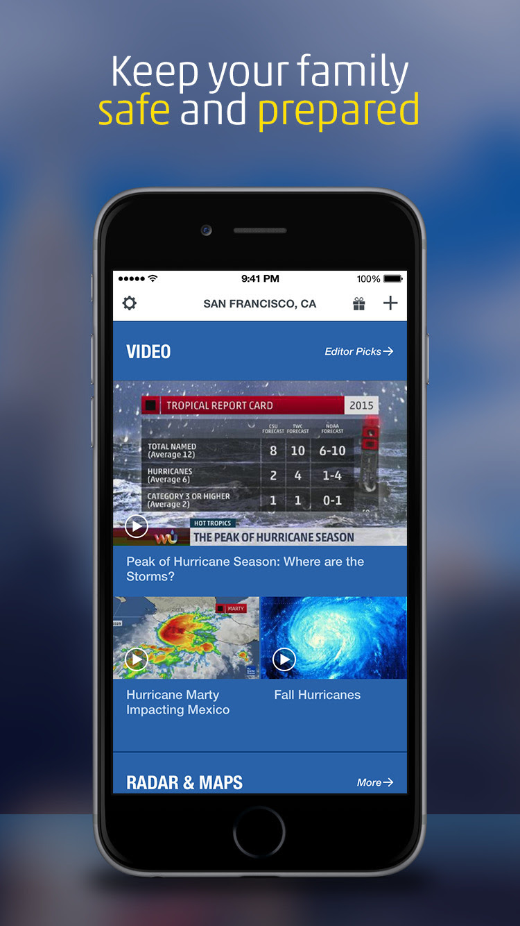 The Weather Channel App Gets Dynamic Home Screen Morning
