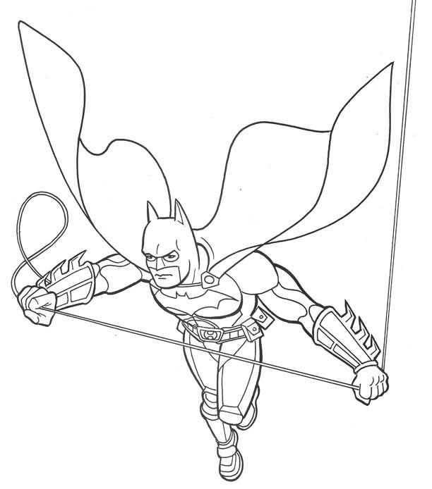 Batman Boyama Sayfasi 11 Okul öncesi Etkinlik Faliyetleri