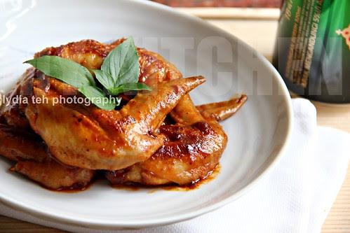 Korean style spicy wings