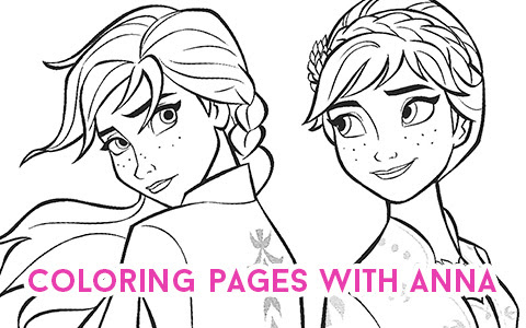 - Coloring And Drawing: Frozen 2 Elsa And Gale Coloring Pages