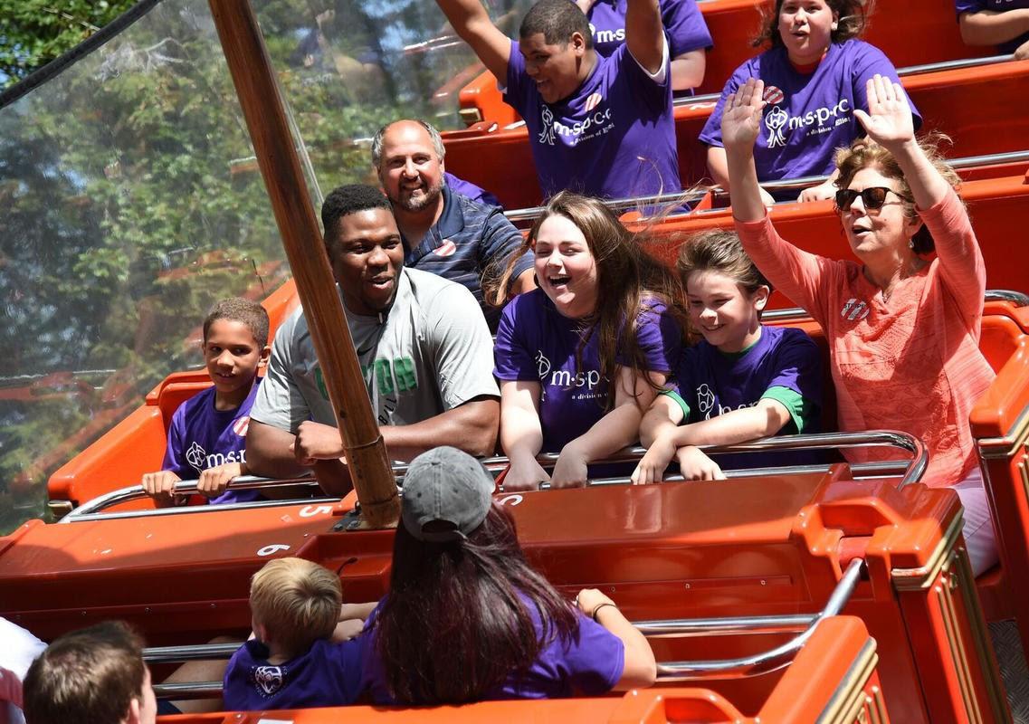 New Celtics no chickens: Rookies take on Canobie Lake rides