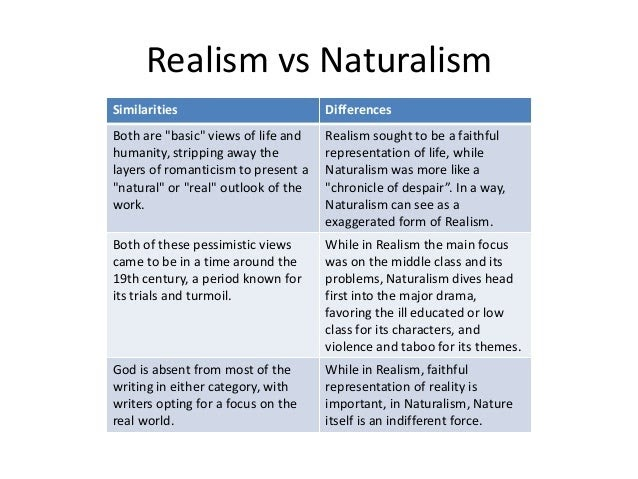 Idealism and realism essay