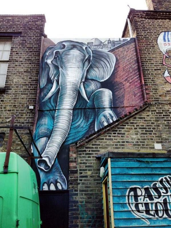 Amazing Huge Street Art on Building Walls (6)