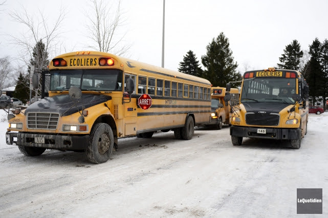 Le ministre de l'Éducation du Québec ne croit pas que l'on devrait interdire... (Photo archives Le Quotidien, Jeannot Lévesque)
