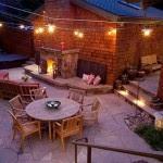 Освещение террасы дома и на даче — фото, видео, лучшие идеи