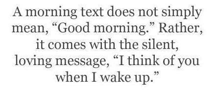 Love Estoriees: Good Morning Text Messages for Him or Her