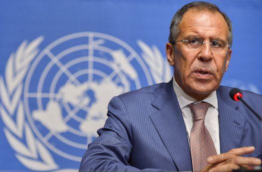 Sergei Lavrov en la OTAN