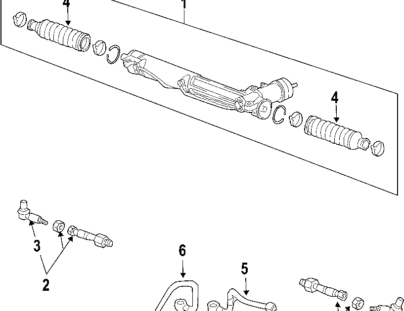 34 Tie Rod Assembly Diagram