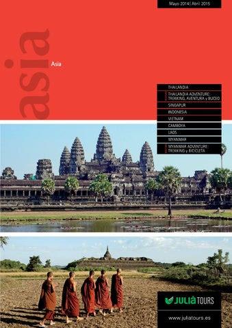 Julia Tours Catálogo Thailandia 2014