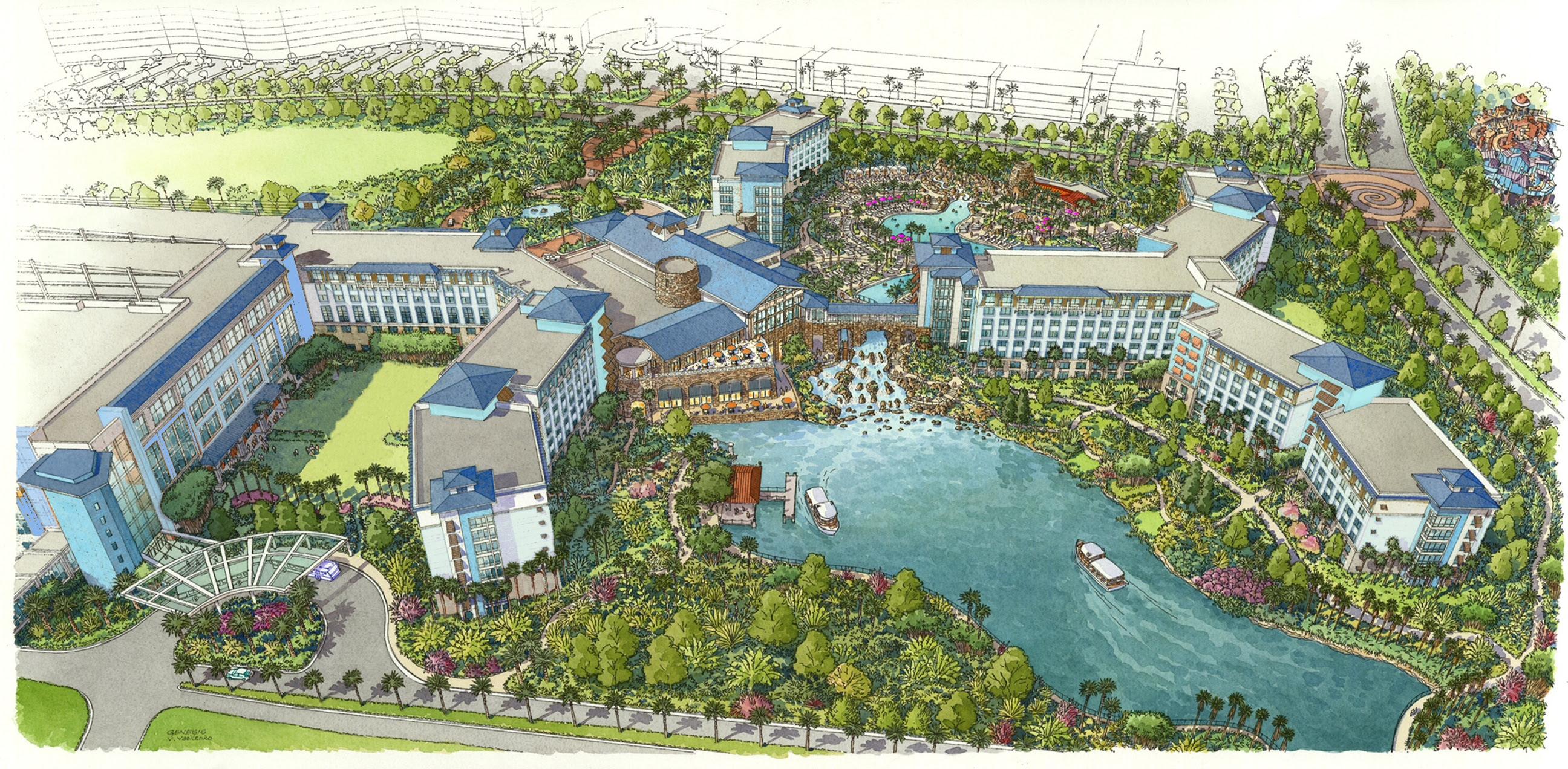 Universal Orlando Sapphire Falls Resort Opening in 2016