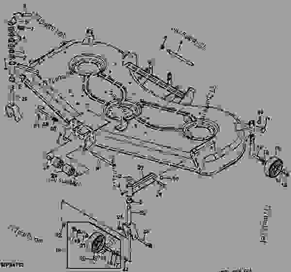 Wiring Database 2020  25 John Deere 54c Mower Deck Diagram
