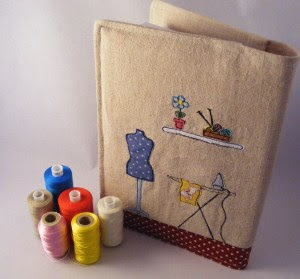 Sewing Notebook Back