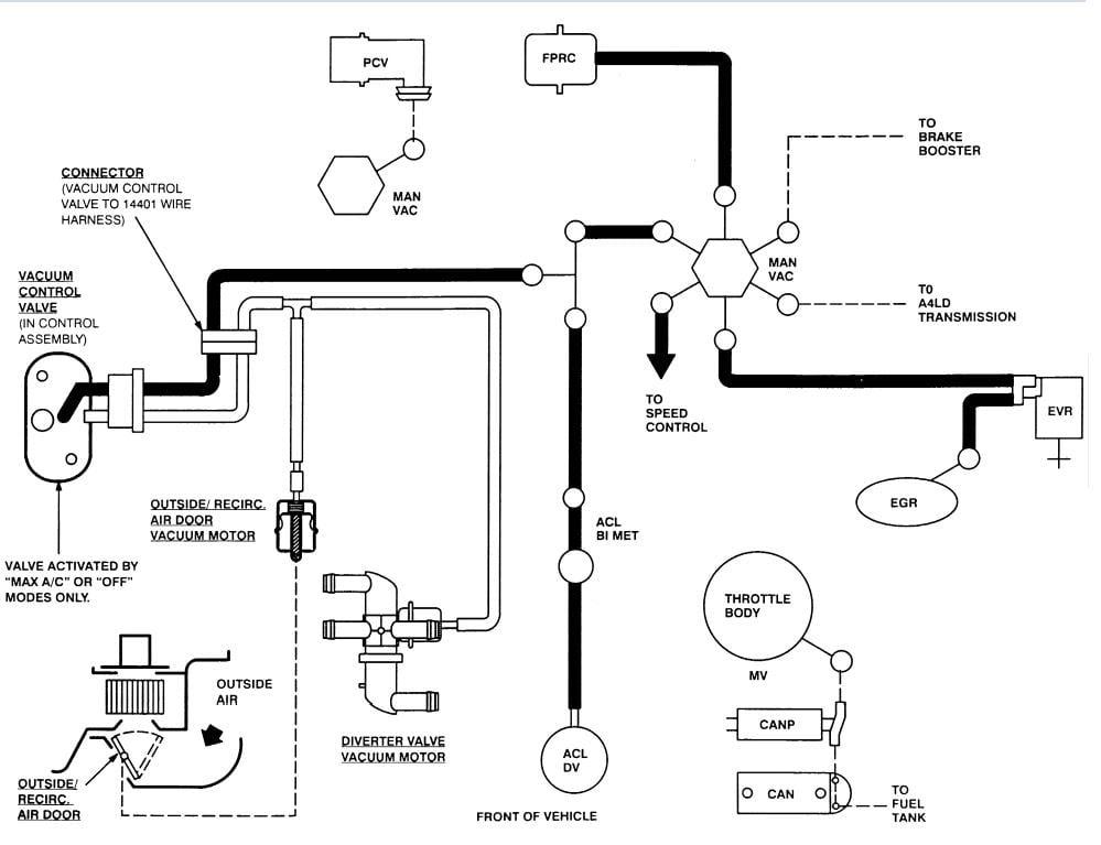 35 2004 Ford Explorer Vacuum Hose Diagram