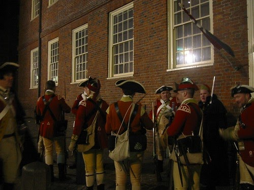 Francois Illas New Tradition: Boston 1775: The Boston Massacre As You've Never Exactly