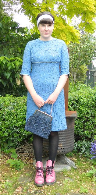 Vintage 60s dress from Two Squirrels