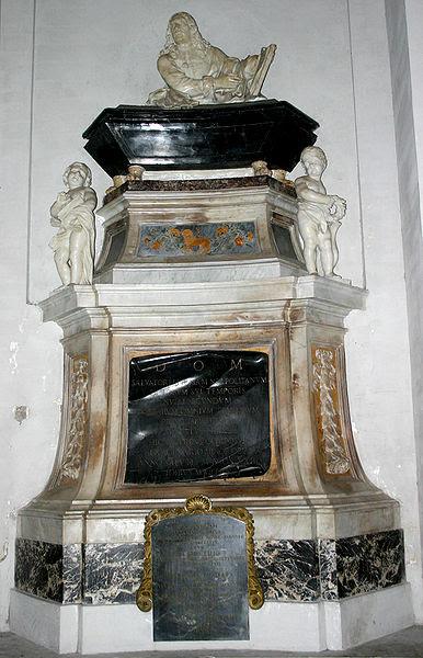 Fil: 3200A Roma - S. Maria degli Angeli - Tomba Salvator Rosa - Foto Giovanni Dall'Orto 17-juni-2007.jpg