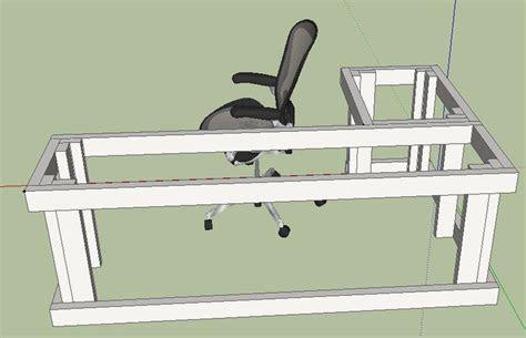 woodworking plans for computer desk