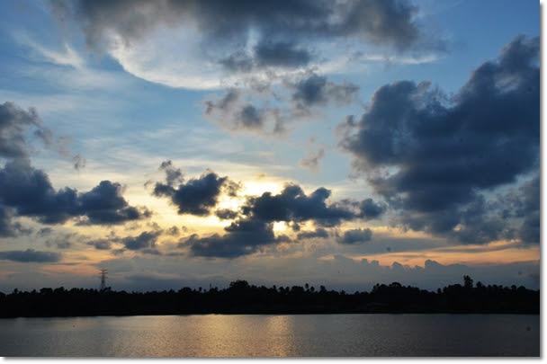 Sunset in Kota Bharu