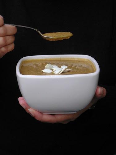 Curried Pumpkin & Black Bean Soup