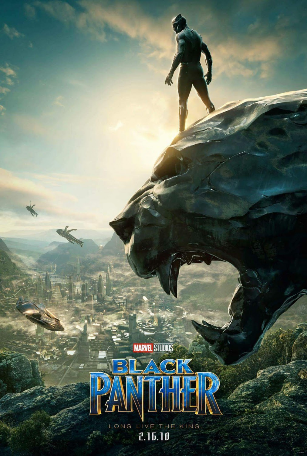 Extra Large Movie Poster Image for Black Panther (#2 of 23)