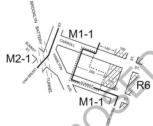 Proposed Zoning Change Affecting Gowanus Nursery