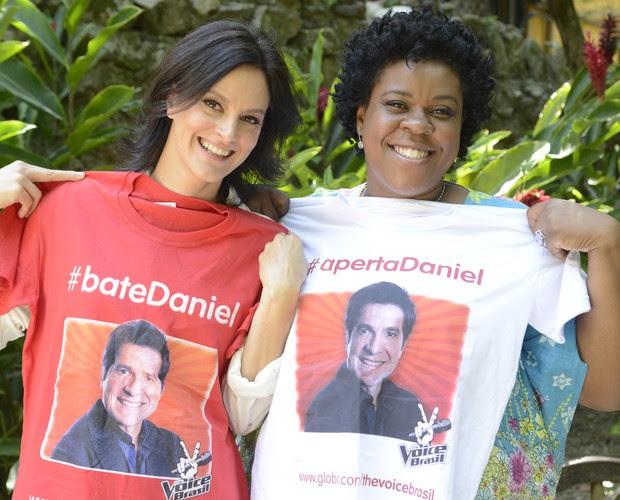 Cacau Protásio Claudia Missura (Foto: The Voice Brasil/TV Globo)