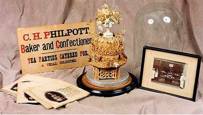oldest wedding cake