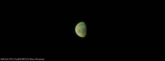 Moon from Juno fly-by