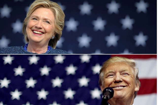Hillary Clinton et Donald Trump... (PHOTOS REUTERS)