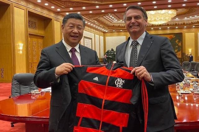 China e Brasil trocam cartas afetuosas entre os presidentes