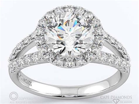 Split Band Engagement & Wedding Ring Collection : Cape