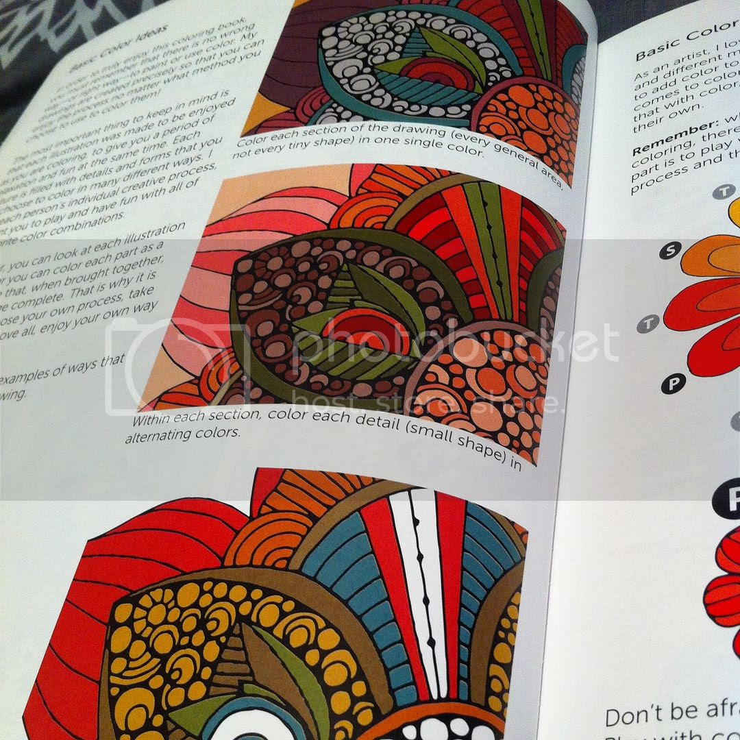 Creative Colouring Inspirations - different ways to colour