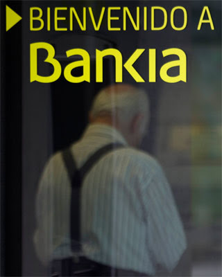Una sucursal de Bankia en Madrid. - REUTERS